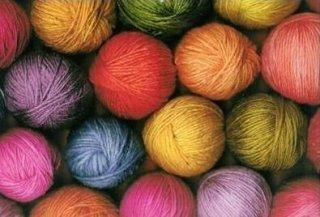 gomitoli di lana,