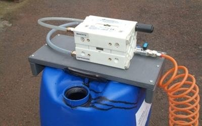 Diaphragm pump for paints turin