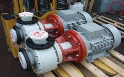 horizontal pumps with motor turin