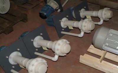 pompe chimiche per acido cromico torino