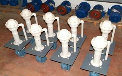 Vertikale Chemie-Pumpen Turin