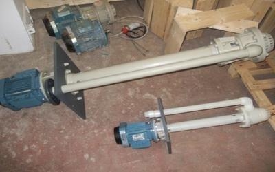 bombas verticales para ácido sulfúrico turín