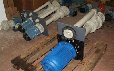 pumps for corrosive liquids