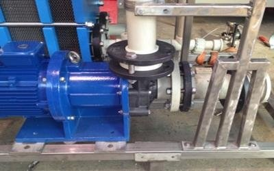 Metal magnetic pump turin