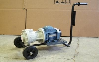Portable horizontal pump turin