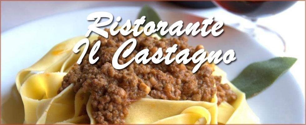 Fettuccine fatte in casa - Ristorante il Castagno - Sassetta (LI)
