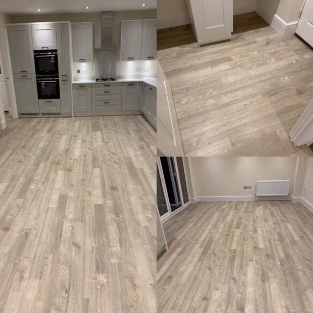 Sun Bleached Oak LVT From The Amtico Spacia Collection And