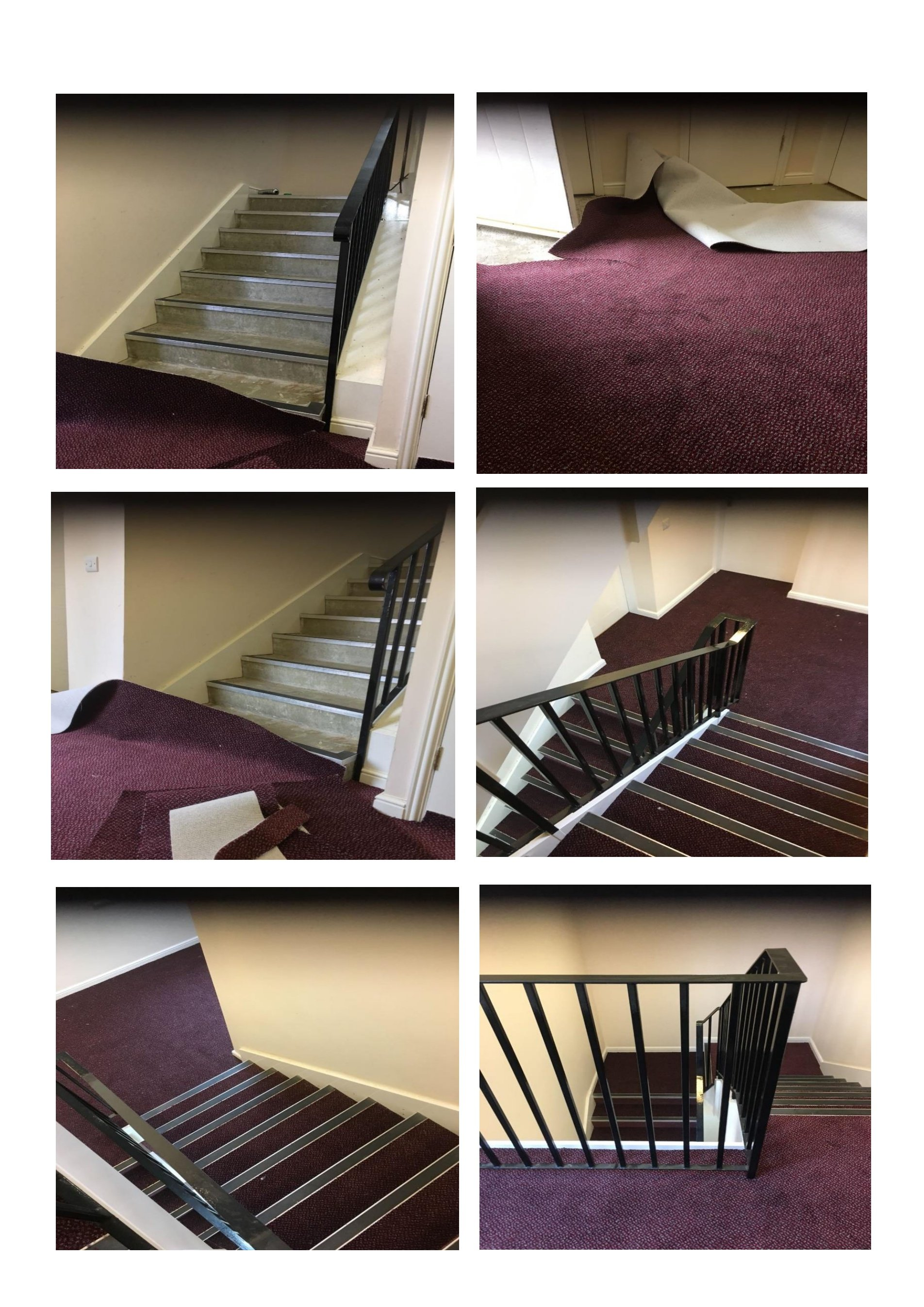 Communal Stairs Carpet By Ege Supplied And Fitted By