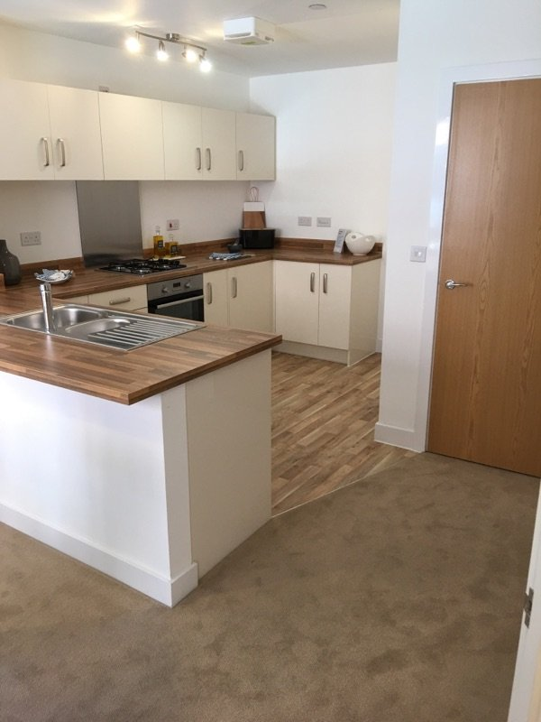 Kitchen Flooring LVT And Carpet Flooring Phoenix Flooring Limited Bristol