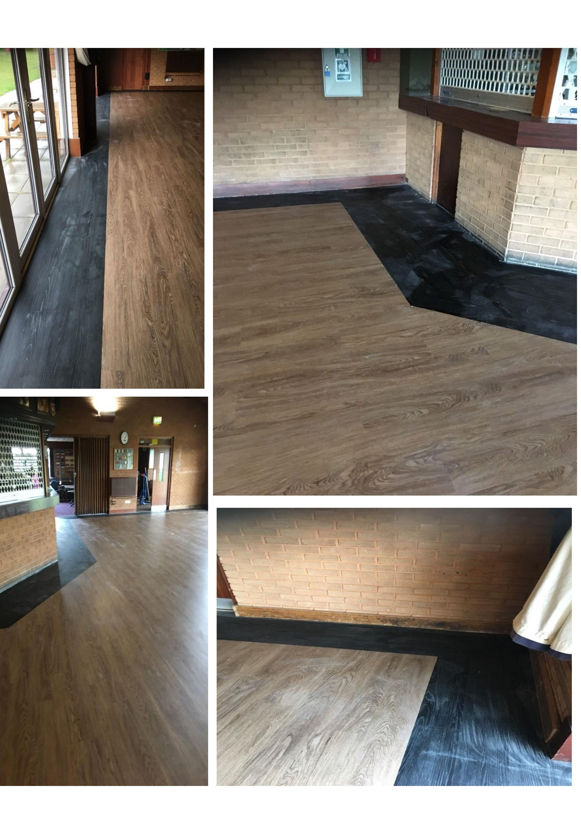 Commerical Lvt Flooring Installed By Phoenix Limited Bristol