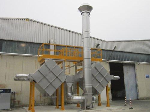 Impianti di ventilazione e aspirazione