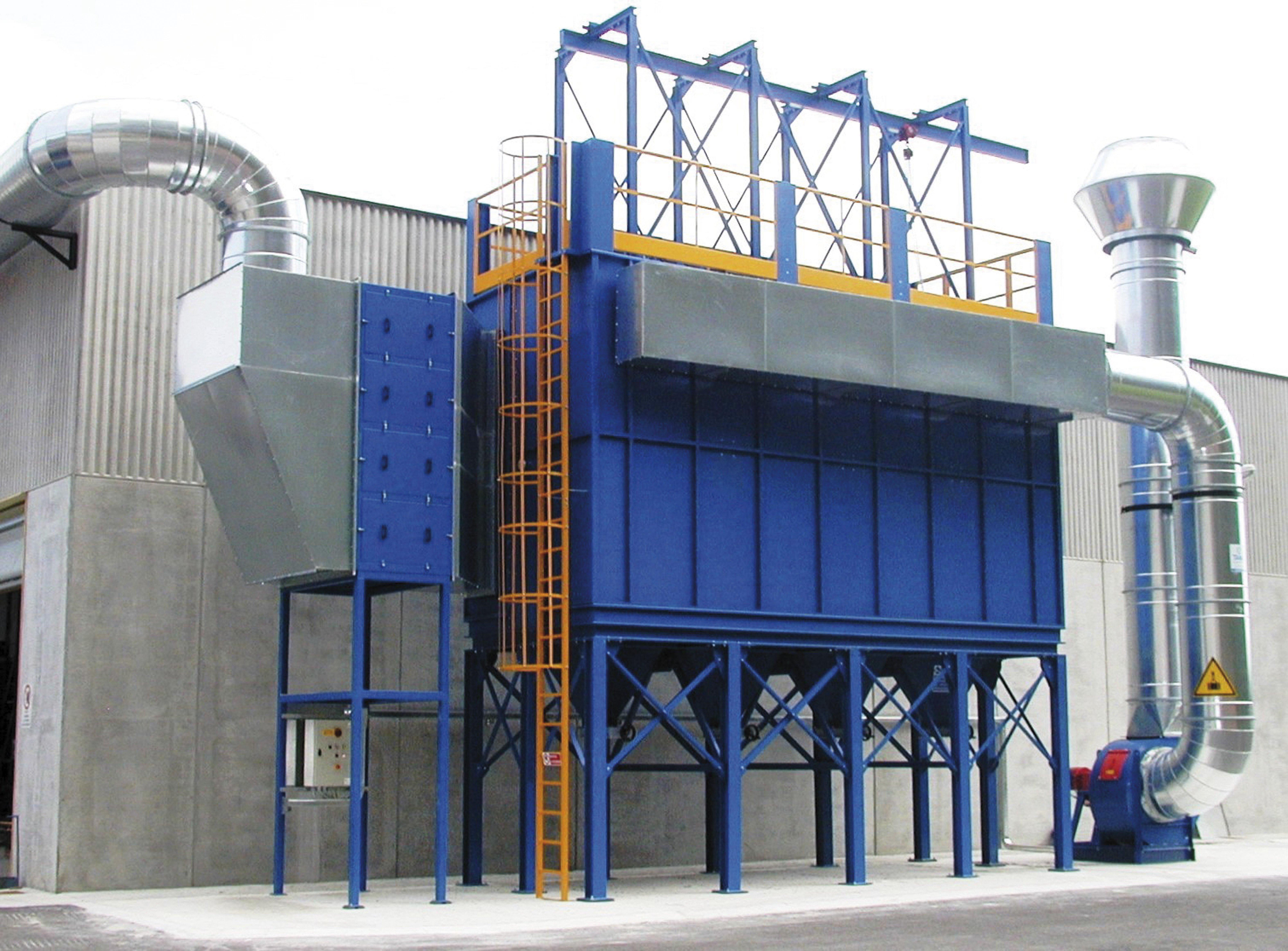 adsorbitore a carboni attivi per solventi