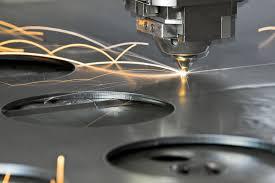 taglio ottone e bronzo con laser in fibra ottica