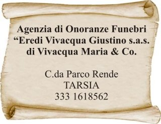 Agenzia Eredi Vivacqua Giustino
