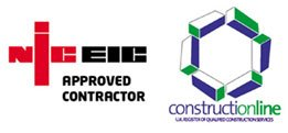 NICEIC constructionline logos