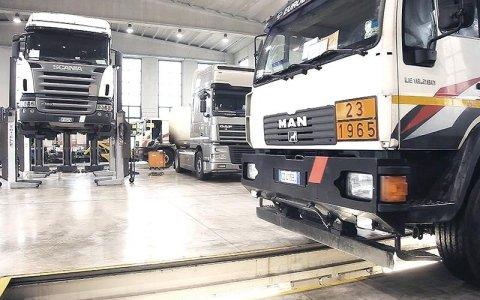 Riparazioni camion