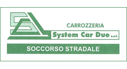 carrozzeria system car due - logo