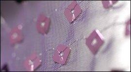 tessuti con inserti paillettes