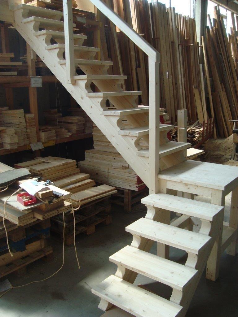 realizzazione di scale e pedate in legno