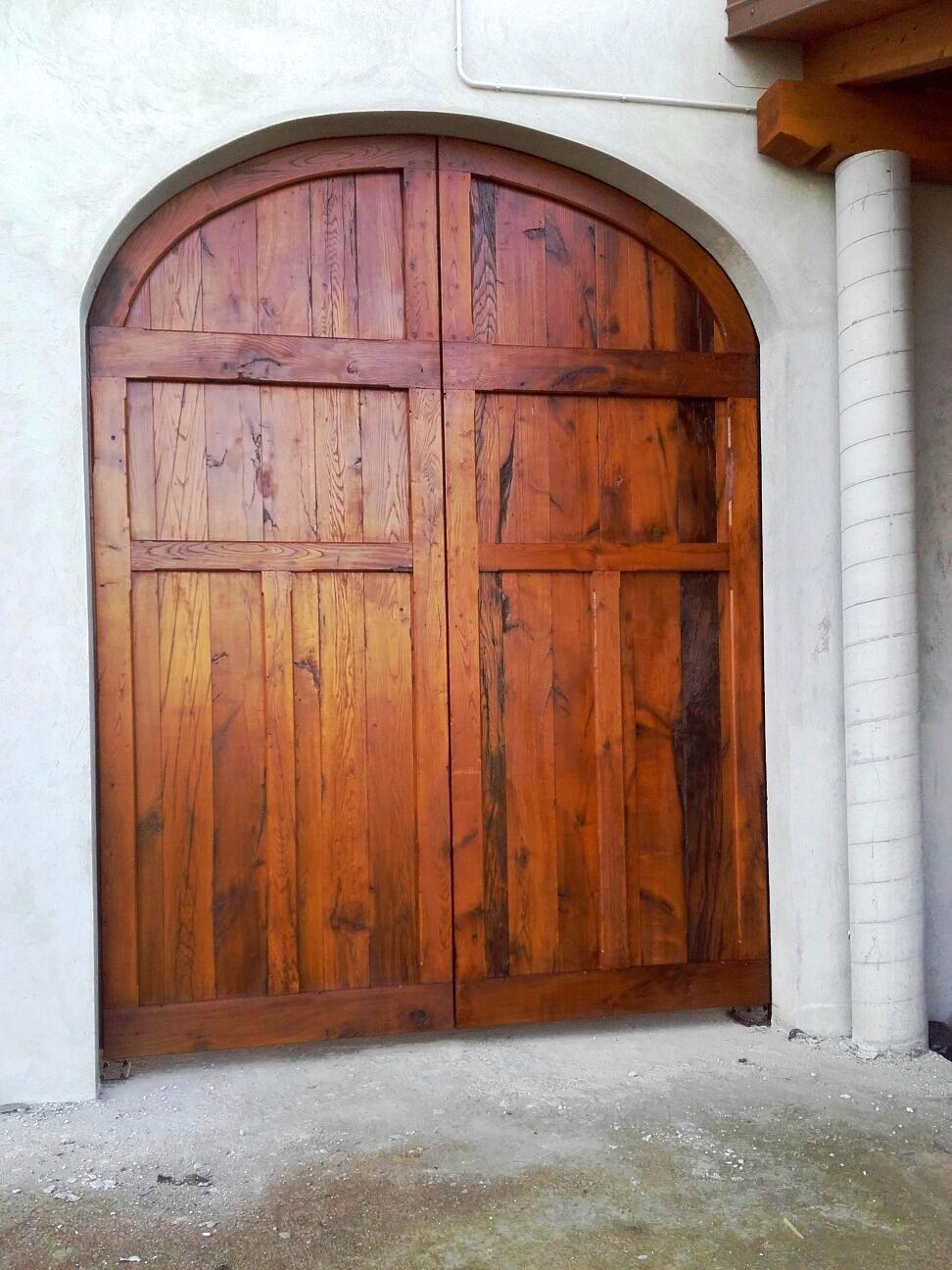 Portone in legno antico Torino