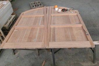 portoni in legno massello