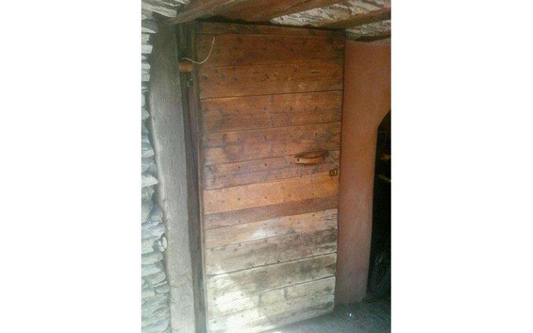 portone in legno antico segheria Torino