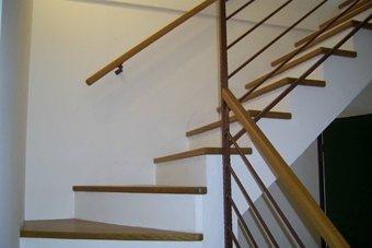 scale in legno personalizzate