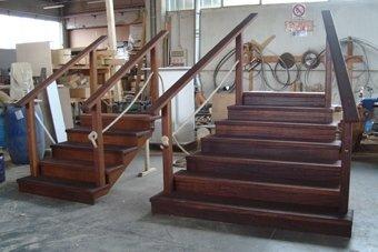 scale in legno per locali