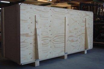 scatole in legno per trasporti