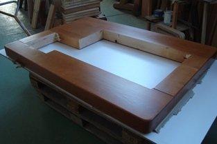 travetti in legno artigianali