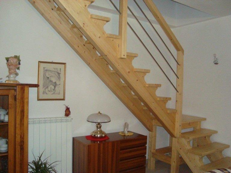 realizzazione di scale in legno