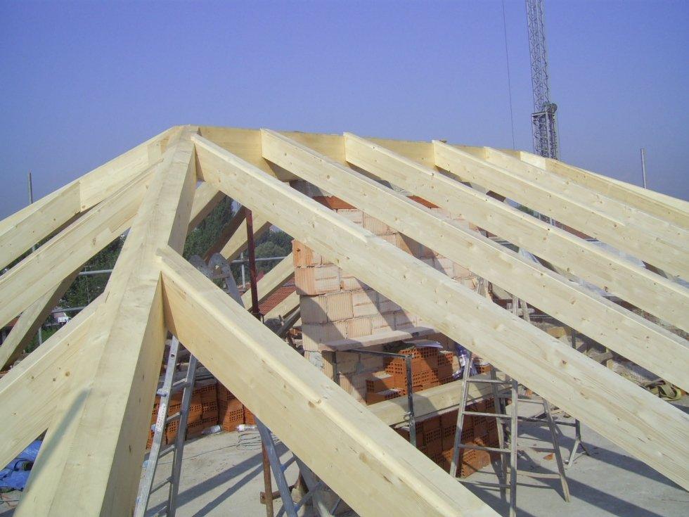 travature in legno per tetti