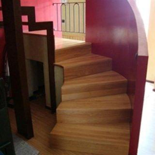 copertura scale in legno