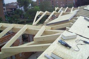 tetti lavorati in legno