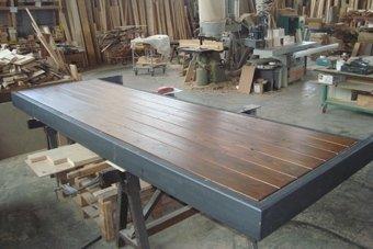 pavimenti in legno levigato