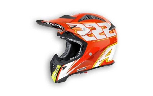 Casco da moto cross