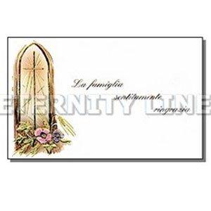 Funeral cards Ortonovo