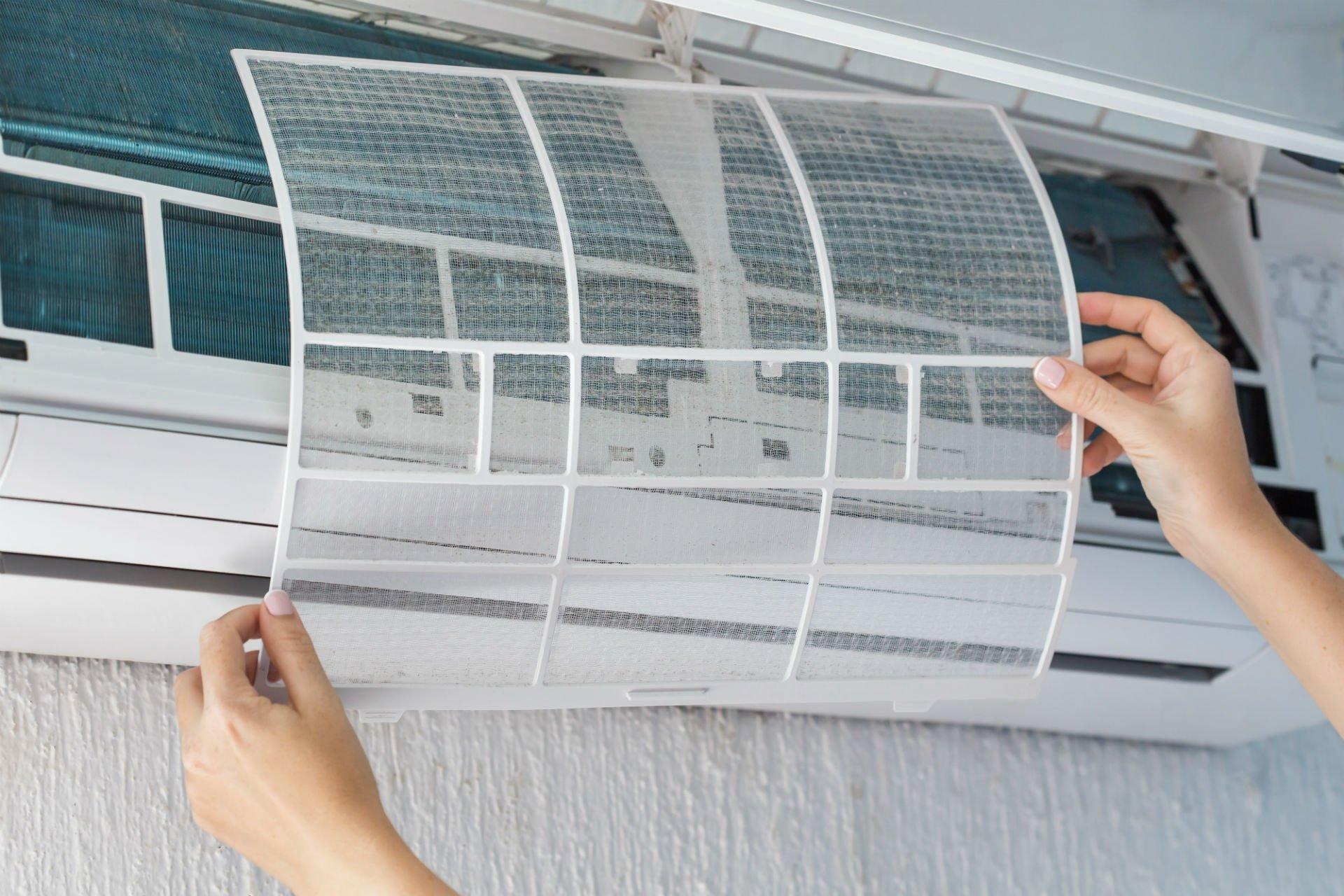 Dettaglio di un climatizzatore