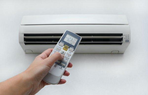 Impianto di climatizzazione e telecomando