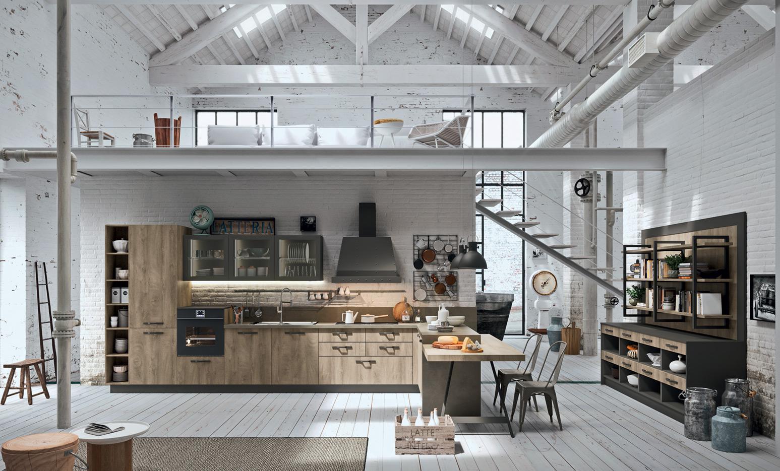 Industrial Kitchen - Astra