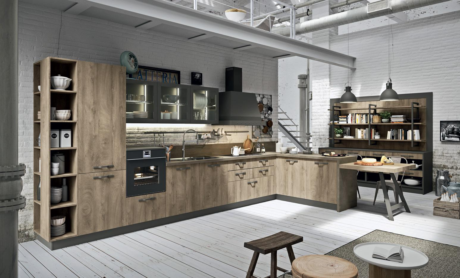 Industrial Kitchen - Astra