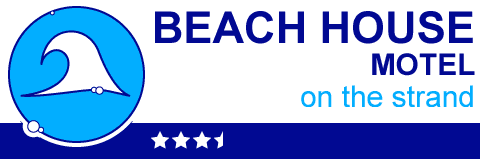 beach house motel logo