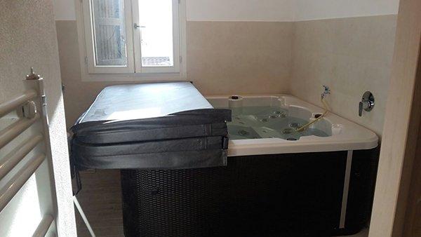 Vasca installata da MC in provincia di Bologna