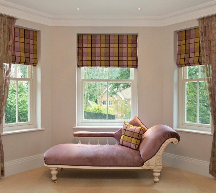 Sofa and windows