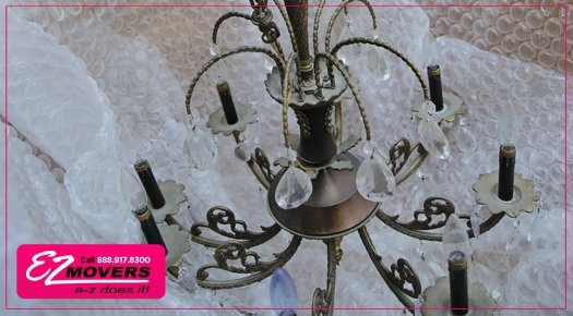 Chandelier Packing and Moving Services