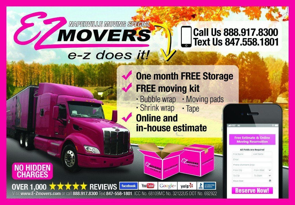 Naperville Movers Special