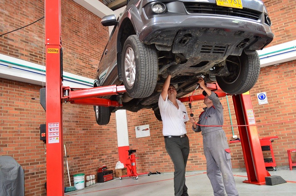 Man trusting the friendly motor mechanic for car care and repairs in Gold Coast
