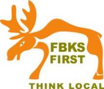 Fairbanks First - Think Local logo