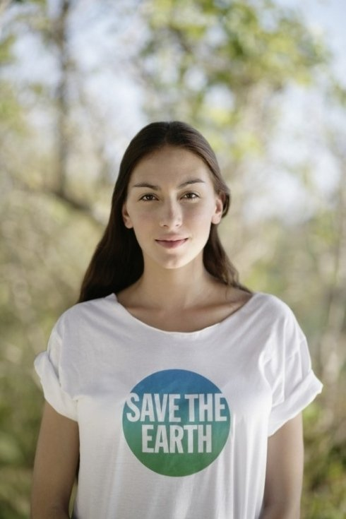Maglietta Save the Earth