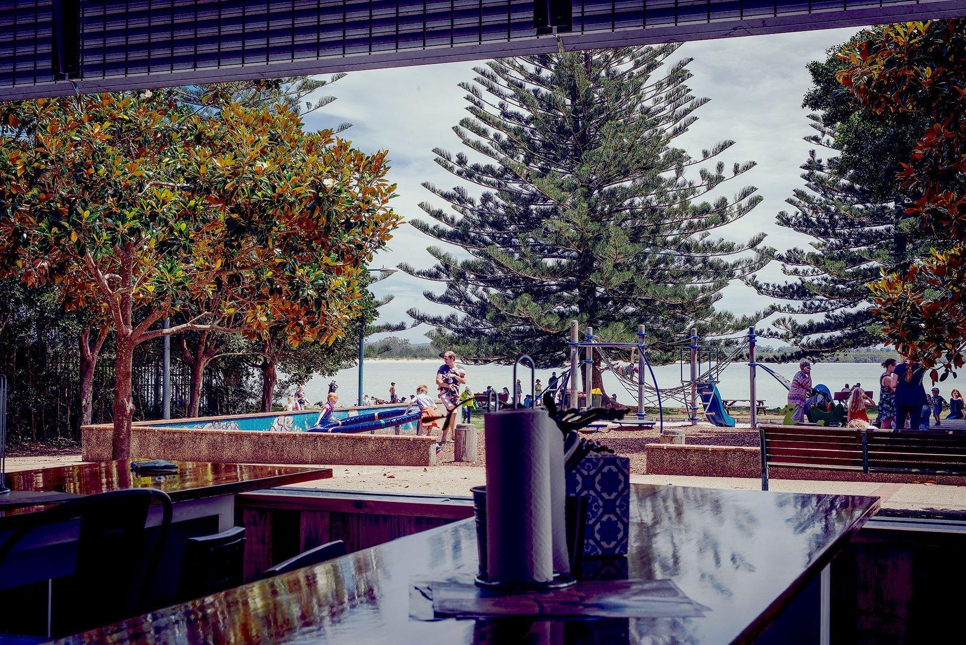 Chop 'n Chill Restaurant Indoor Area